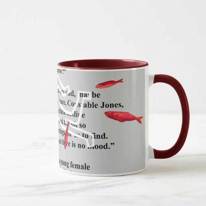 red herrings crime mystery mug