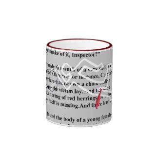 red herrings crime mystery ringer mug