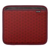 Red Hexagon iPad Sleeve