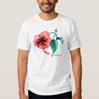 Red Hibiscus Art to Wear Dresses