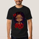 Red Hibiscus Fairy Shirt