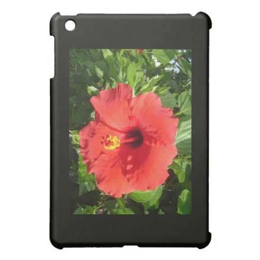 Red Hibiscus iPad Mini Cases