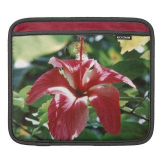 Red Hibiscus iPad Sleeve