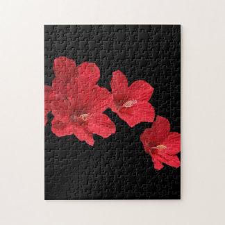Red Hibiscus Puzzle
