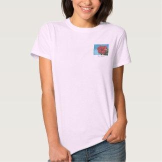 Red Hibiscus Shirt