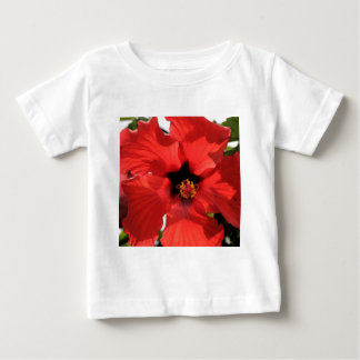 """Red Hibiscus """"Star""""! Infant T-shirt"""