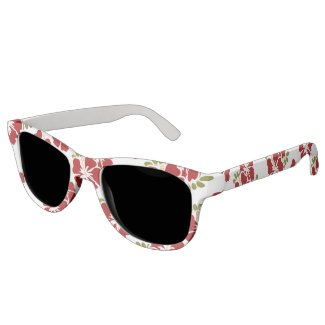 Red Hibiscus Sunglasses