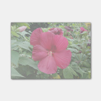 Red Hibiscus Post-it® Notes