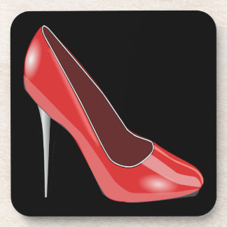 Red High Heel Coaster