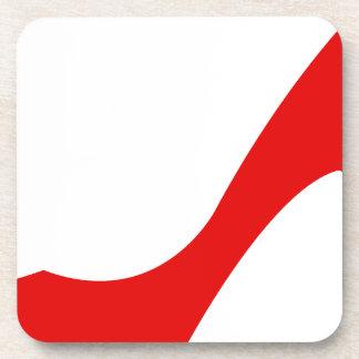 Red High Heel Beverage Coaster