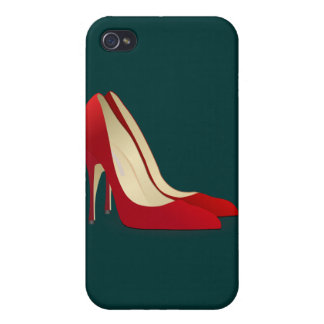 red high heel shoes iPhone 4 covers