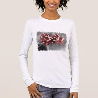 Red High Roller Dice Las Vegas Long Sleeve T-Shirt