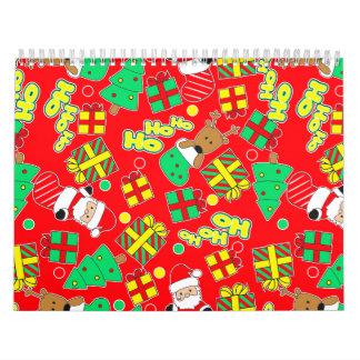 Red - Ho Ho Santa Calendar
