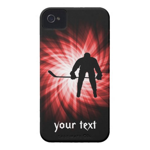 Red Hockey iPhone 4 Covers