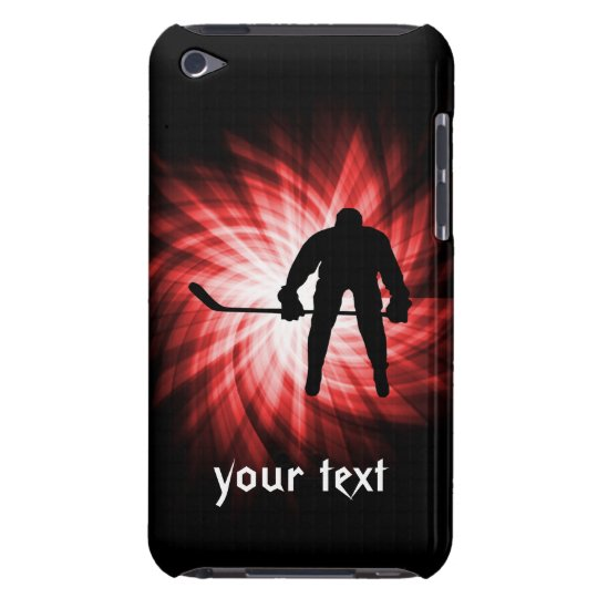 Red Hockey iPod Touch Case-Mate Case