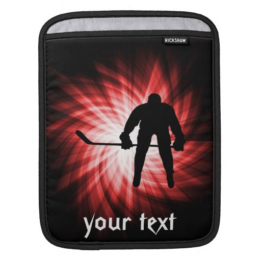 Red Hockey Sleeve For iPads