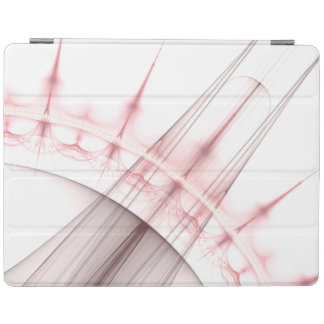 Red Hole Particle Jet iPad Cover