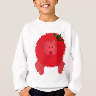 Red Holly Bow Pom Pom Pal Sweatshirt