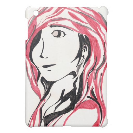 Red Hood and Wolf iPad Mini Cases