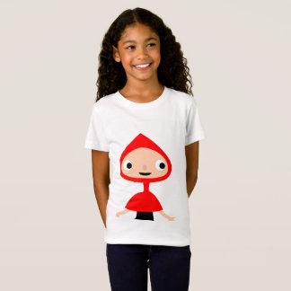 Red hood girl on Girls' T-shirt
