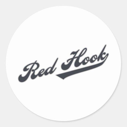 Red Hook Classic Round Sticker