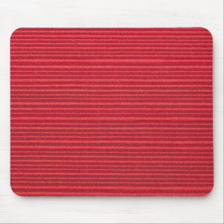 Red horizontal strings and light red base mouse pad