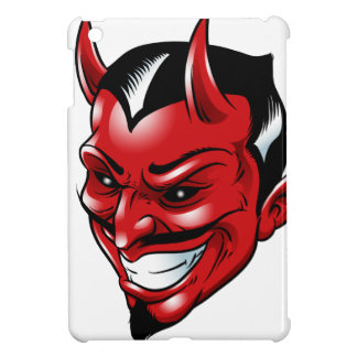 Red Horned Demon iPad Mini Case