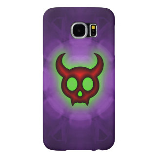 Red Horned Devil Samsung Galaxy S6 Cases