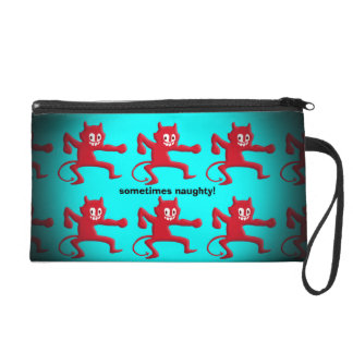 Red Horned Imp, Pointed Tail, sometimes naughty Wristlet