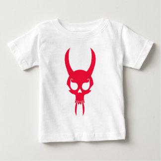 RED HORNED SKULL BABY T-Shirt