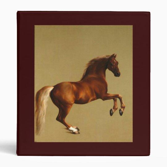 RED HORSE 3 RING BINDER