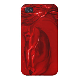 Red Horse iPhone Case iPhone 4 Cases