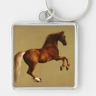 RED HORSE KEYCHAIN