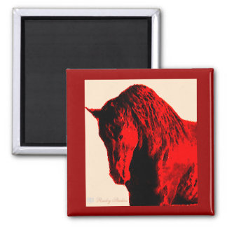 Red Horse Magnet