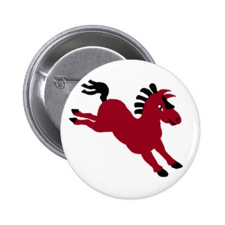 Red horse pins