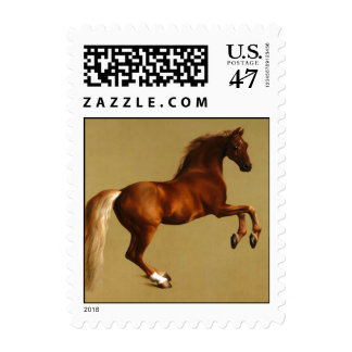 RED HORSE POSTAGE STAMP