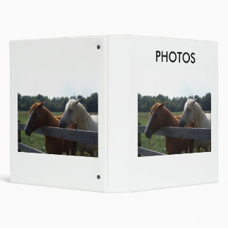 Red Horse, White Horse, PHOTOS Binder