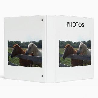 Red Horse, White Horse, PHOTOS Binder