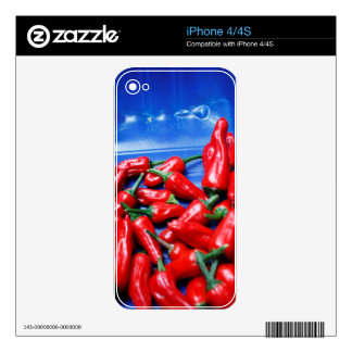 Red hot and blue: chilli peppers skins for iPhone 4S