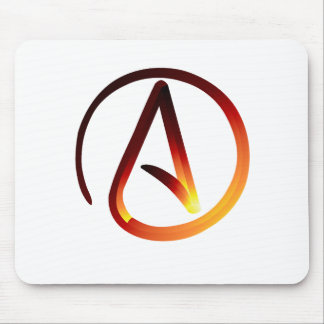 Red Hot Atheist Mousepads
