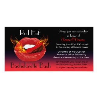 Red Hot Bachelorette Bash Invitation