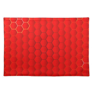 Red Hot Background Placemat