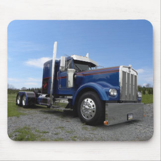 Red Hot & Blue Kenworth Mousepad