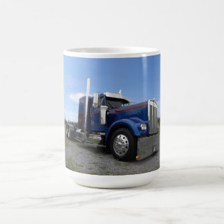 Red Hot & Blue Kenworth Mug