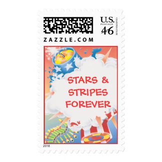 Red Hot Blue © Postage Stamps