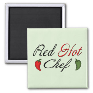 Red Hot Chef Magnet