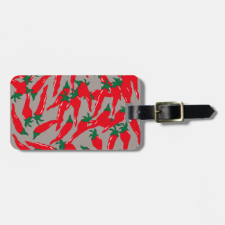 Red Hot Cherry Peppers Luggage Tag