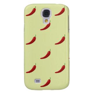 red hot chili pattern HTC vivid tough Samsung S4 Case