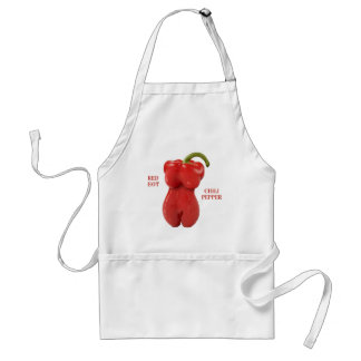 Red Hot Chili Pepper Adult Apron