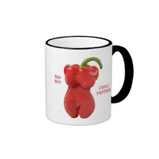 Red Hot Chili Pepper Ringer Mug
